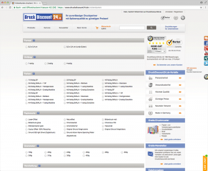 Druckprodukte online bestellen