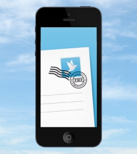 Postkarten App für Handy