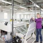 Druckplattenbelichtung unserer Druckerei in Köln