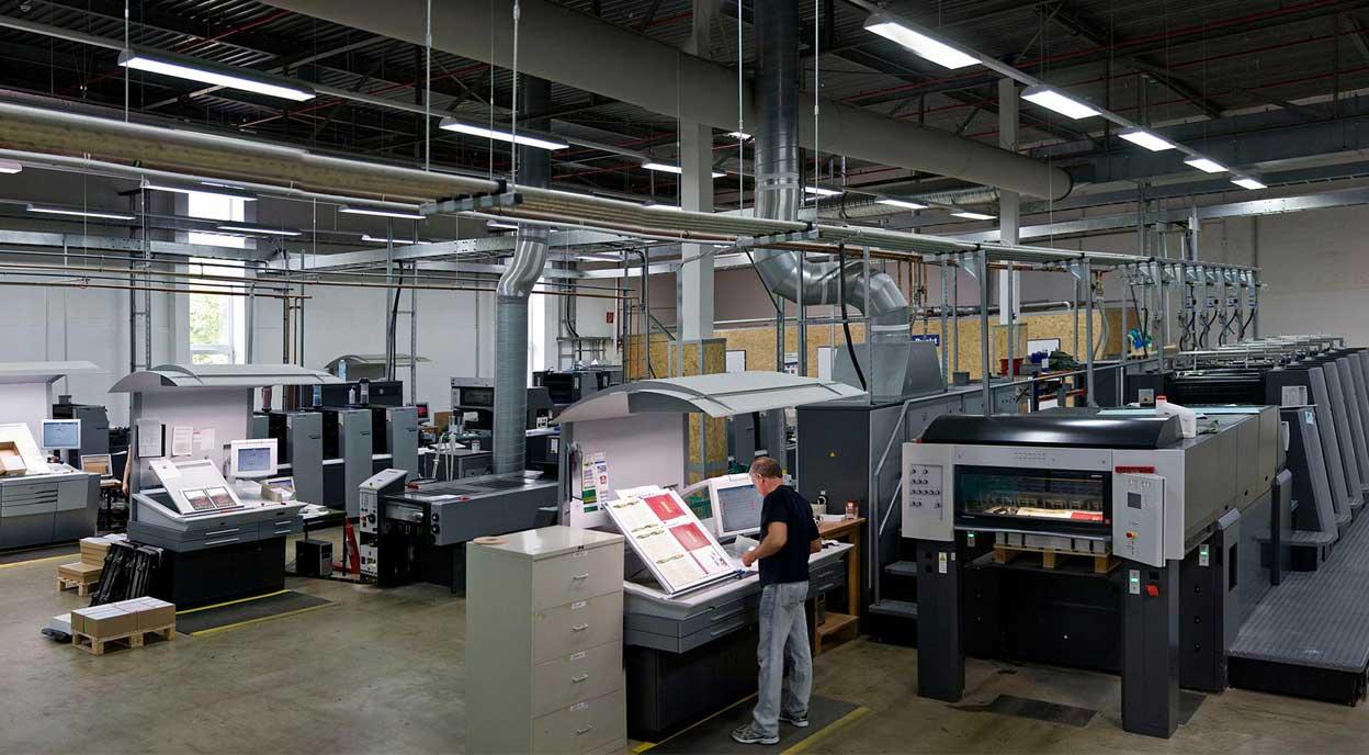 Druckerei Köln Offsetdruck Digitaldruck Großformat Und