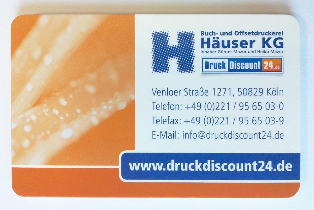 Visitenkarten Drucken Köln Extrem Günstig Bei Ihrer