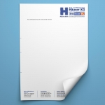 briefpapier bedruckt
