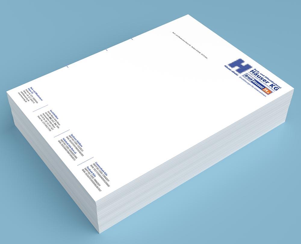 Briefpapier Drucken Die Günstige Briefpapier Druckerei In Köln